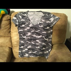 victoria secret pink camo t large New in pkg.